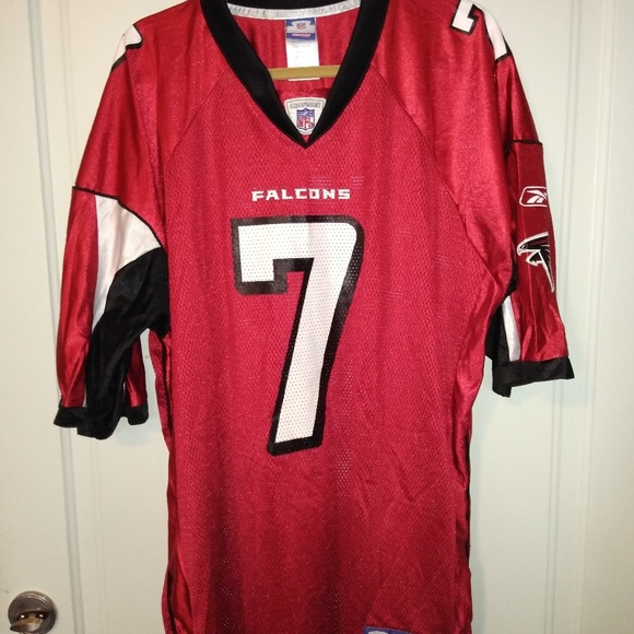 reputable site 05a12 d4053 Genuine Falcons #7 Vick Replica Jersey by Reebok